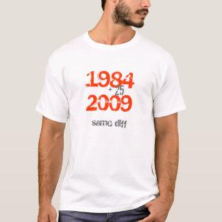 "AMSOC 1984 - 2009 ""same diff"" destroyed T-shirt"