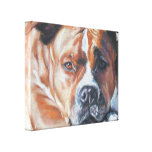 Amstaff Fine Art Painting on Wrapped Canvas Gallery Wrap Canvas