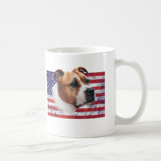 AmStaff the USA grunge flag //CUP of CUP
