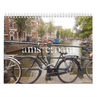 Amsterdam 2014 - Custom Printed Calendar