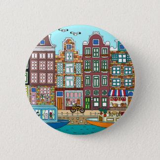Amsterdam 2 Inch Round Button