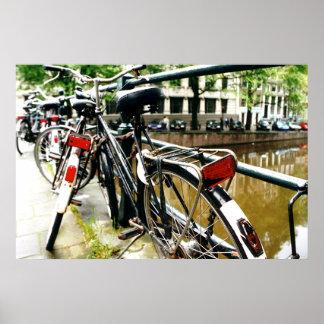 Amsterdam Bike Poster