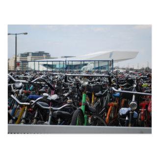 Amsterdam - Bikes Postcard