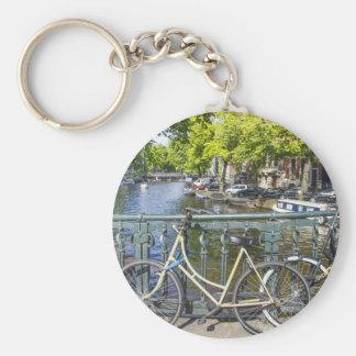 Amsterdam canal keychain