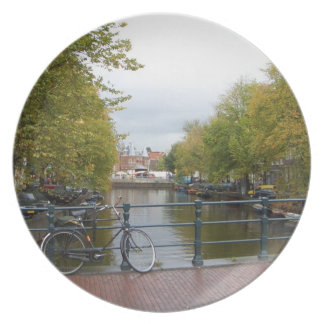 Amsterdam Canal Plates