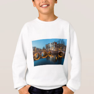 Amsterdam Canals at Night Sweatshirt