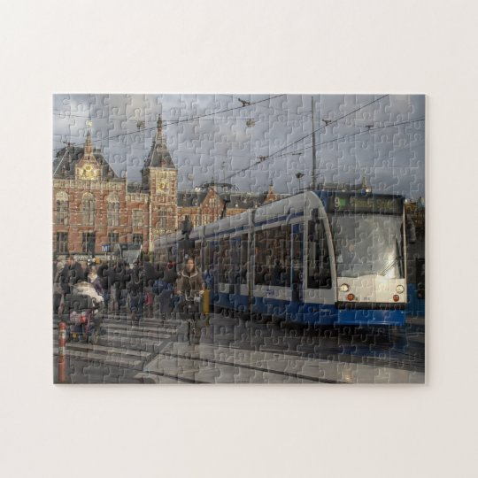 Amsterdam Central Station Jigsaw Puzzle
