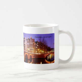 Amsterdam, City of Lights (by St.K.) Coffee Mug