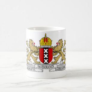 Amsterdam Coat of Arms Coffee Mug