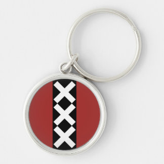 Amsterdam Coat of Arms. Keychain