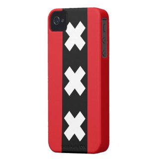 Amsterdam Flag iPhone 4 Case
