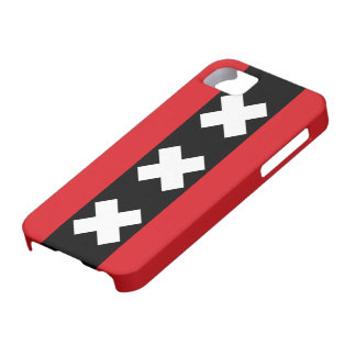 Amsterdam Flag iPhone 5 Cover
