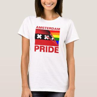 Amsterdam Gay Pride Rainbow Flag T-Shirt