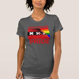 Amsterdam Gay Pride Rainbow Flag T Shirts