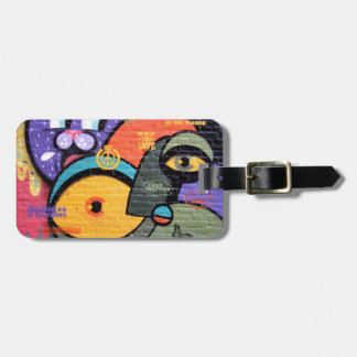 Amsterdam Graffiti Luggage Tag