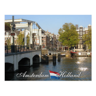 Amsterdam Holland Postcard