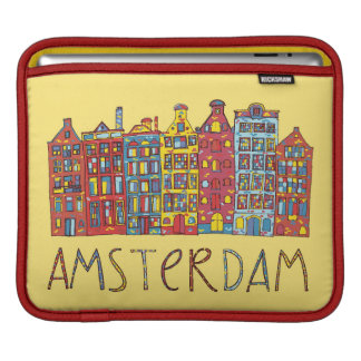 Amsterdam In Mosaic iPad Sleeve