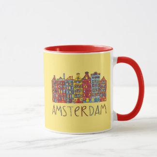 Amsterdam In Mosaic Mug