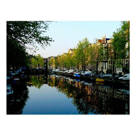 Amsterdam Mornings Postcard