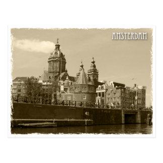 Amsterdam, Netherland Postcard