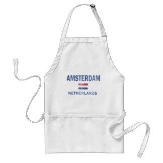 Amsterdam Netherlands Designs Standard Apron