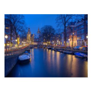 Amsterdam, Netherlands Photography Postcard