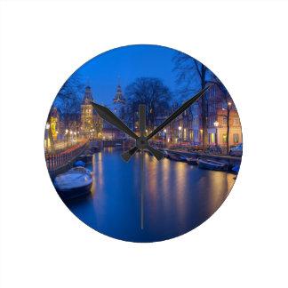 Amsterdam, Netherlands Photography Round Clock