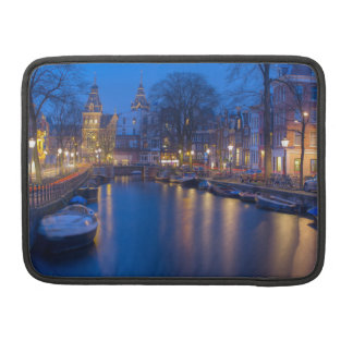Amsterdam, Netherlands Photography Sleeve For MacBooks
