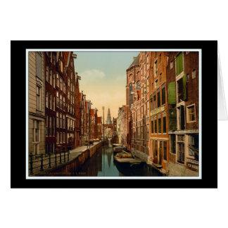 Amsterdam Oudezijds Kolk Card