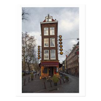 Amsterdam - Petit Saloon Postcard