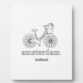 Amsterdam Plaque