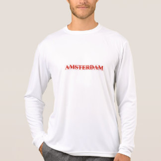 AMSTERDAM red T-Shirt