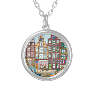 Amsterdam Silver Plated Necklace