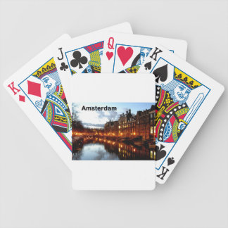 Amsterdam (St.K) Bicycle Playing Cards