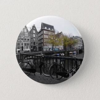 Amsterdam street 2 inch round button
