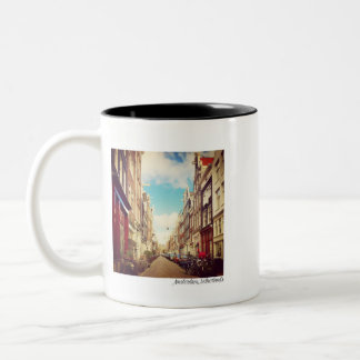Amsterdam Street - Amsterdam, Netherlands - Mug