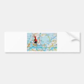 Amsterdam, The Nederlands Bumper Sticker