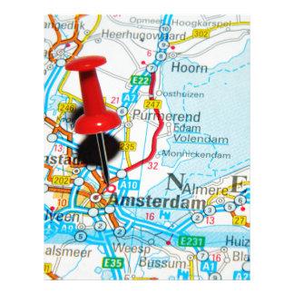 Amsterdam, The Nederlands Letterhead