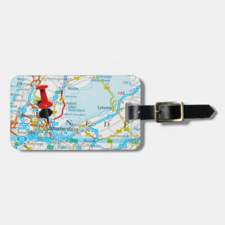 Amsterdam, The Nederlands Luggage Tag