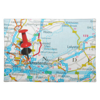 Amsterdam, The Nederlands Placemat