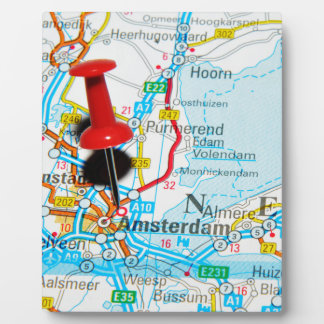 Amsterdam, The Nederlands Plaque