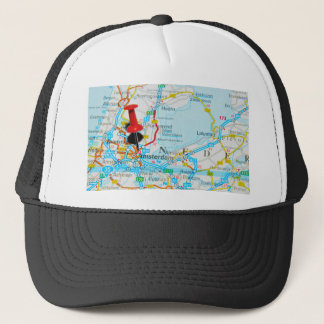 Amsterdam, The Nederlands Trucker Hat