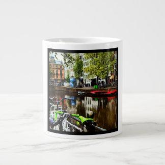Amsterdam View Large Coffee Mug