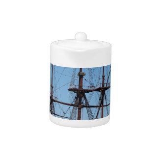Amsterdam wooden sail ship VOC - Range