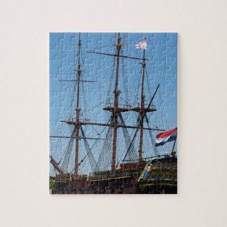 Amsterdam wooden sail ship VOC - Range Jigsaw Puzzle