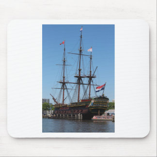 Amsterdam wooden sail ship VOC - Range Mouse Pad