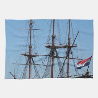 Amsterdam wooden sail ship VOC - Range Towels