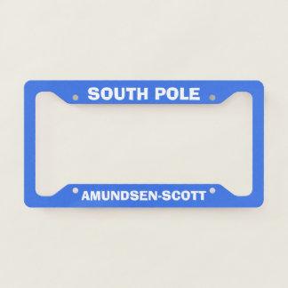 Amundsen-Scott South Pole License Plate Frame