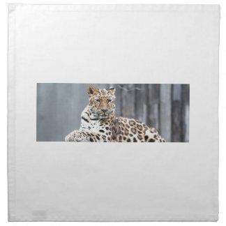 Amur Leopard Napkin