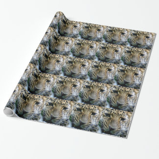 Amur Leopard Wrapping Paper